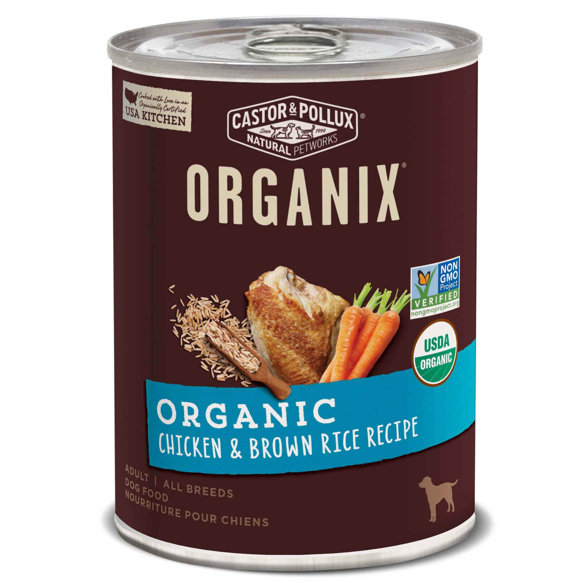 Organic Natural Wet Dog Food
