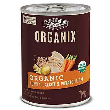 Castor & Pollux Organix Organic Turkey, Carrot & Potato Recipe Wet Dog Food