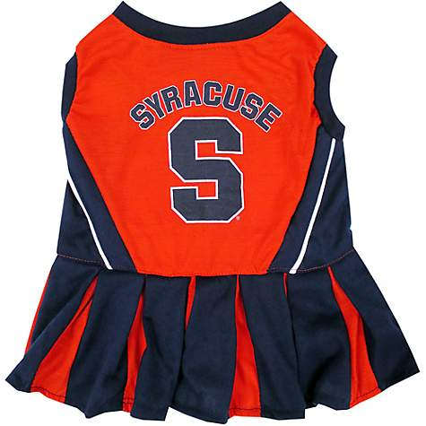 Pets First Syracuse Orange Cheerleading Outfit