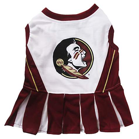 Pets First Florida State Seminoles Cheerleading Outfit