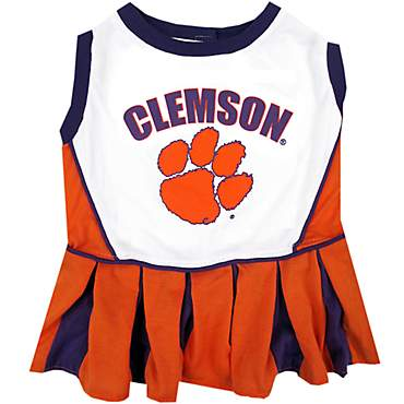 Pets First Clemson Tigers Cheerleading Outfit
