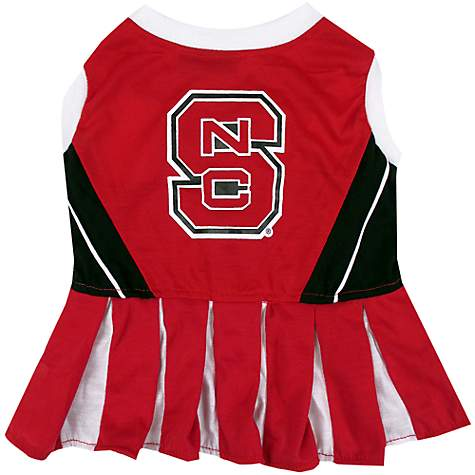 Pets First North Carolina State Wolfpack Cheerleading Outfit