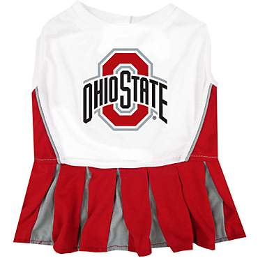 Pets First Ohio State Buckeyes Cheerleading Outfit