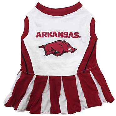 Pets First Arkansas Razorbacks Cheerleading Outfit