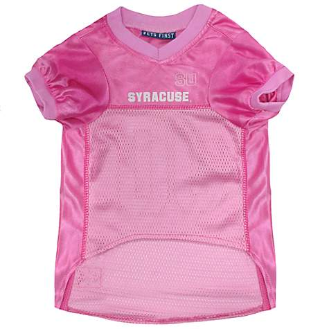 new product f19fd 97fe5 Pets First Syracuse Orange Pink Jersey, X-Small