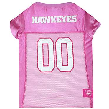 Pets First Iowa Hawkeyes Pink Jersey