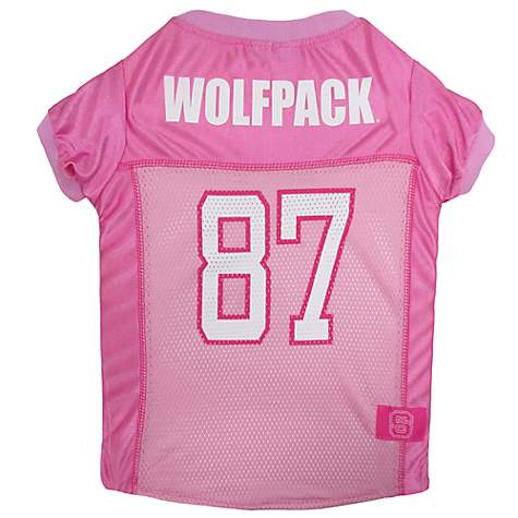Pets First North Carolina State Wolfpack Pink Jersey