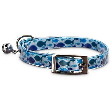 Good2Go Fishy Print Cat Collar