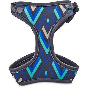 Good2Go Aqua and Blue Chevron Cat Harness and Leash Set