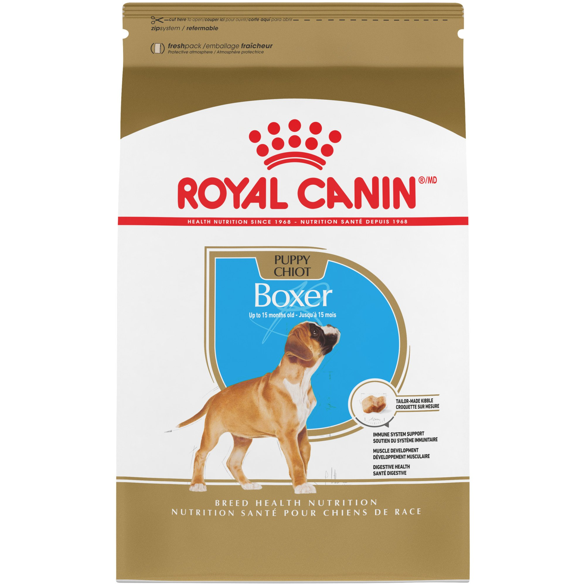 Royal Canin Breed Health Nutrition Boxer Puppy Dry Dog Food Petco