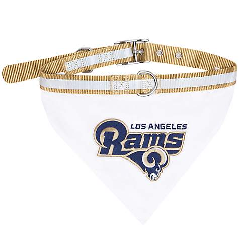 Pets First Los Angeles Rams Collar Bandana