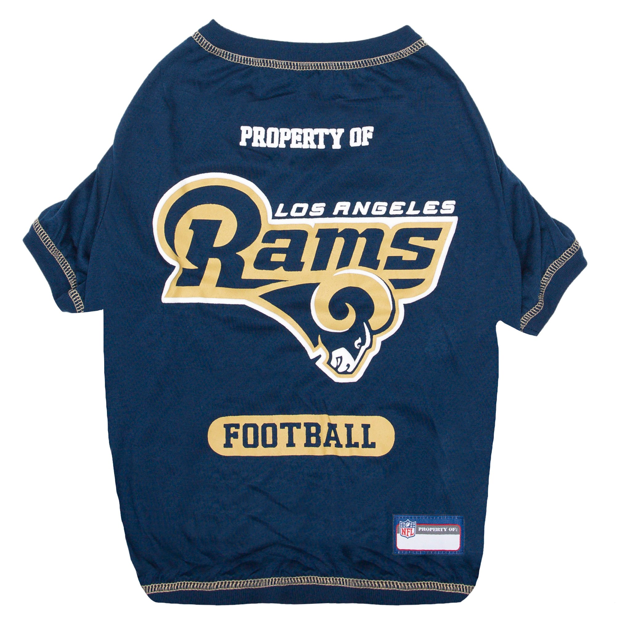 Pets First Los Angeles Rams T-Shirt  7b1b8af70