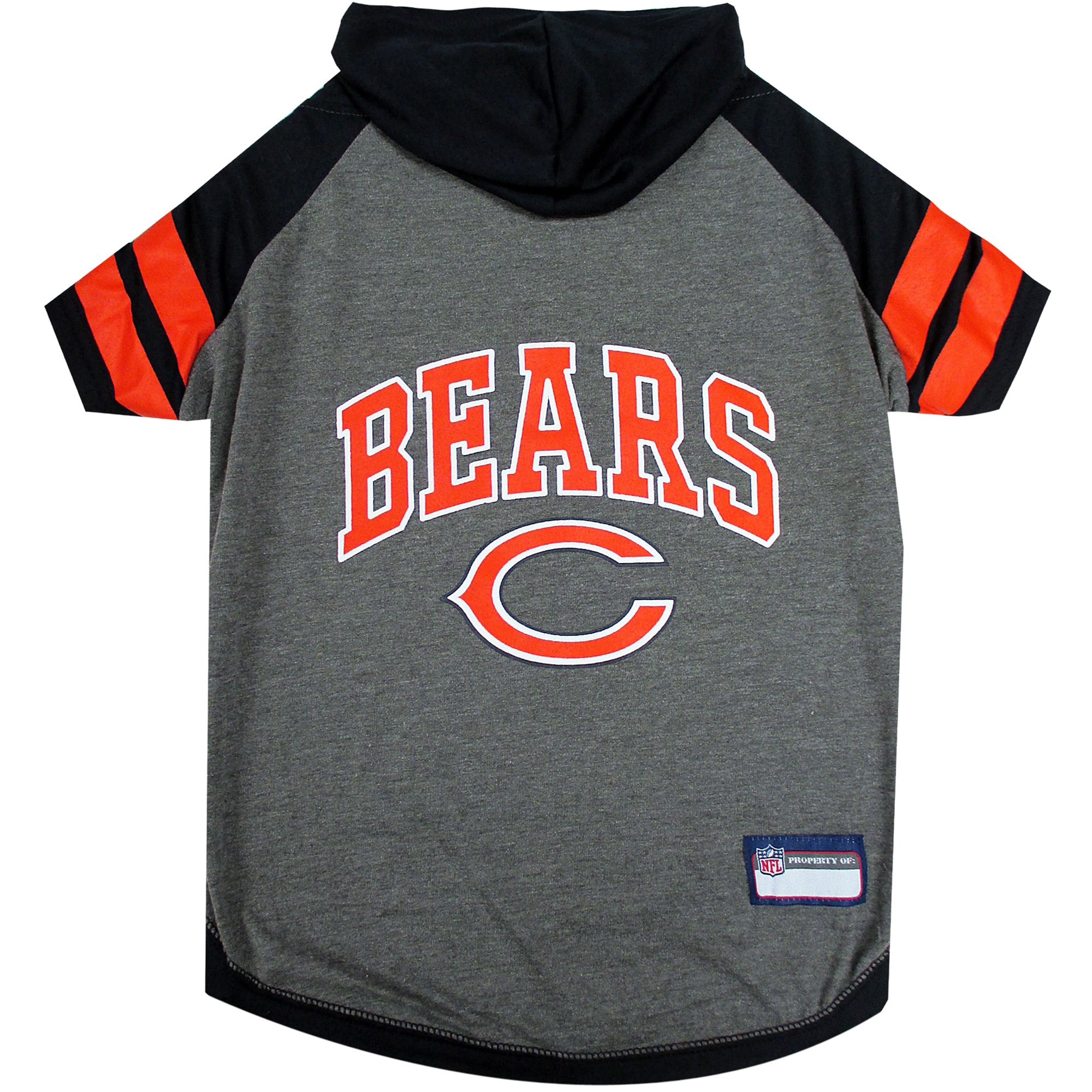 wholesale dealer 15650 e7d9c Pets First Chicago Bears Hoodie Tee Shirt For Dogs, X-Small | Petco