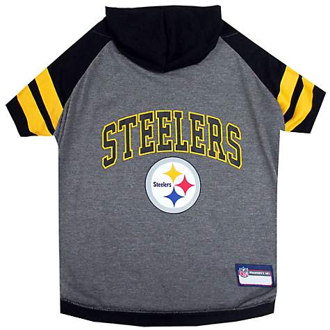 65b1bb10 Pets First Pittsburgh Steelers Hoodie Tee Shirt For Dogs | Petco