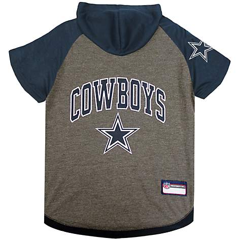 low priced 5d4fa a091d Pets First Dallas Cowboys Hoodie Tee Shirt For Dogs, Small