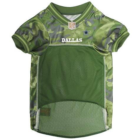 059ef8f3b5b Pets First Dallas Cowboys Camo Jersey | Petco