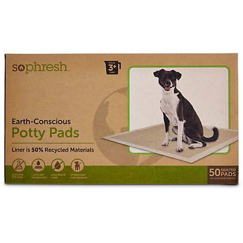 So Phresh Earth-Conscious Potty Pads