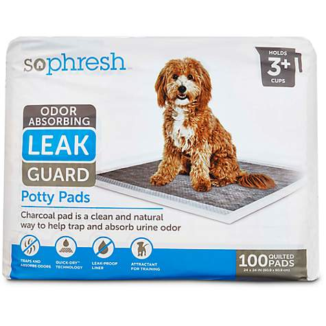 So Phresh Odor Absorbing Leak Guard Potty Pads