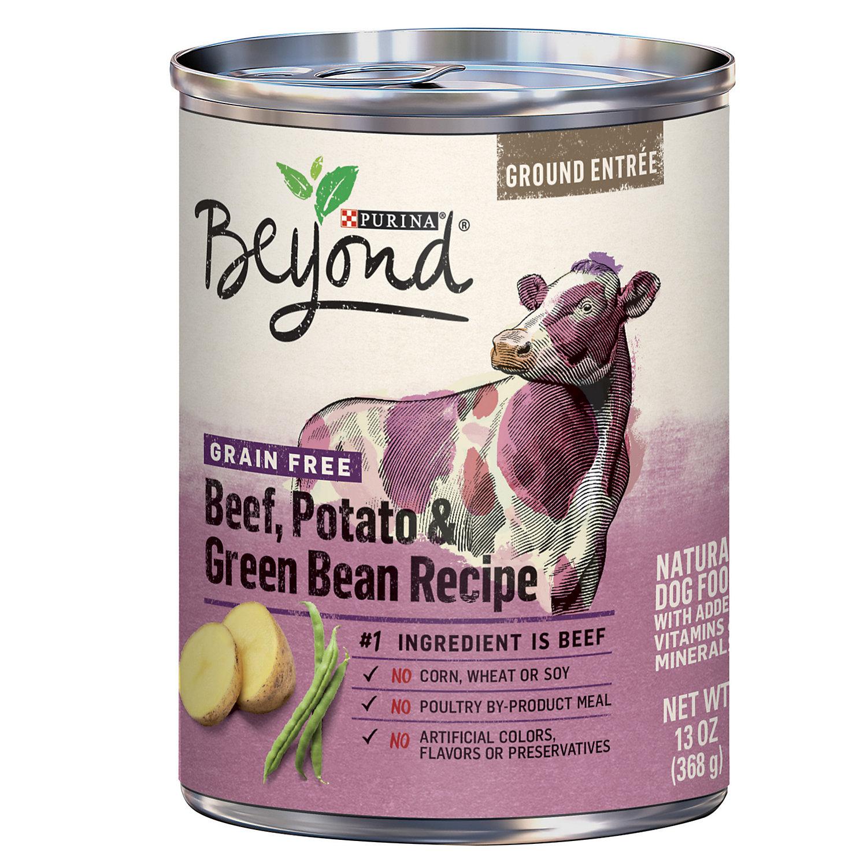 UPC Purina Beyond Wet Dog Food Grain Free Beef