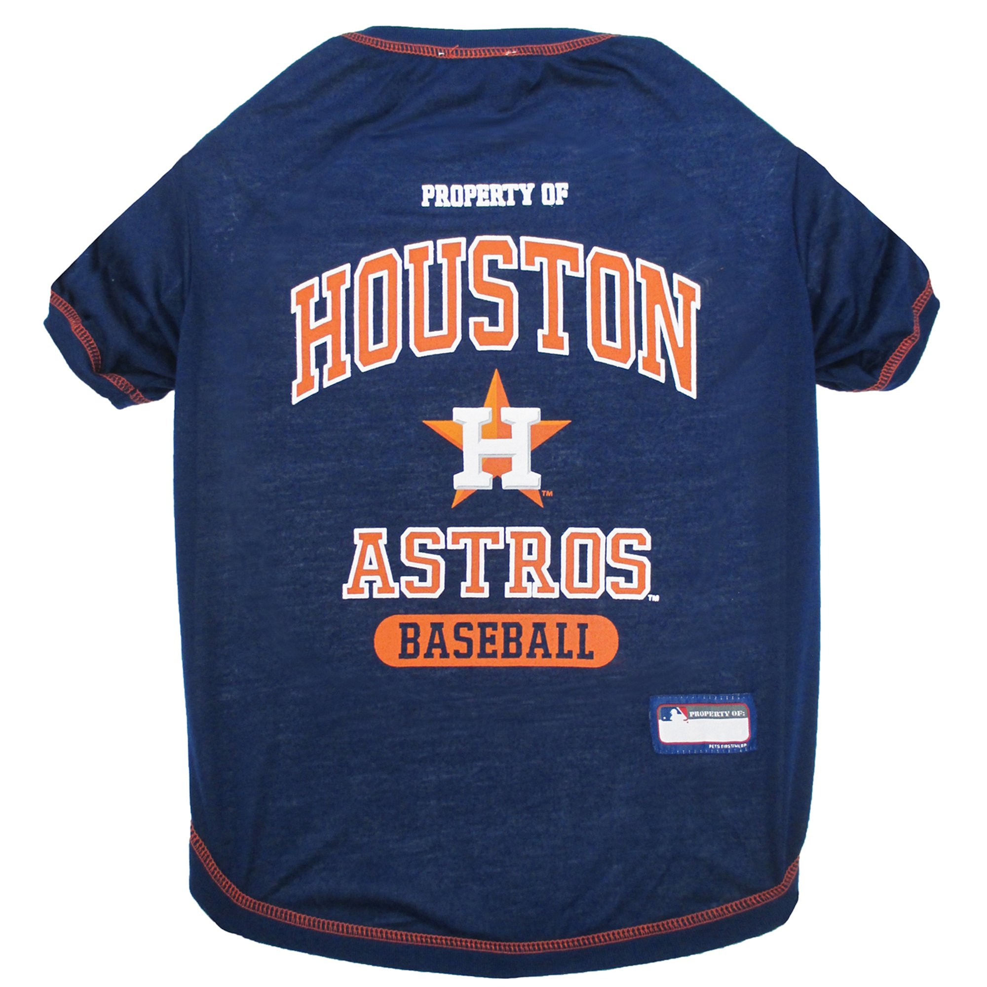 5357af9cf943d Pets First Houston Astros T-Shirt | Petco