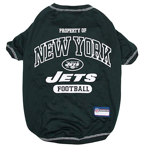 Nice Pets First New York Jets Tee Shirt For Dogs, X Small