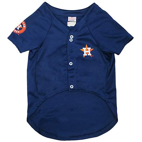 huge selection of 04e6c 219e3 Pets First MLB Houston Astros Jersey for Dogs, X-Large