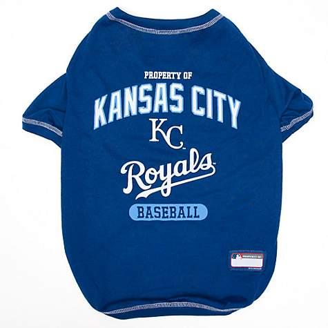 lowest price 27c02 d83c6 Pets First Kansas City Royals T-Shirt, X-Small