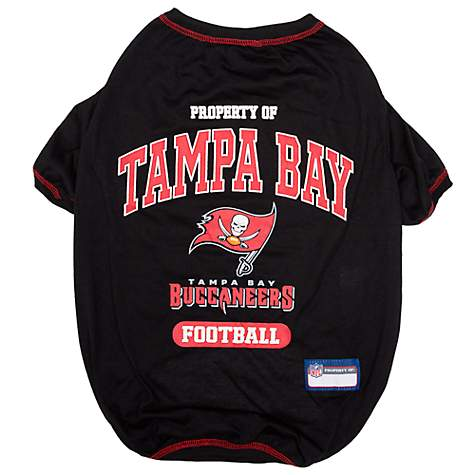 official photos a1d46 ec958 Pets First Tampa Bay Buccaneers Dog T-Shirt, Small