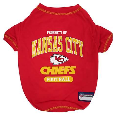 best website 33461 716ec Pets First Kansas City Chiefs T-Shirt, X-Small