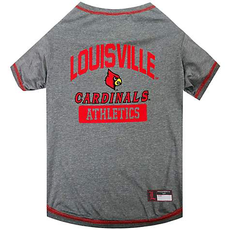 Pets First NCAA Louisville Cardinals Dog T-Shirt