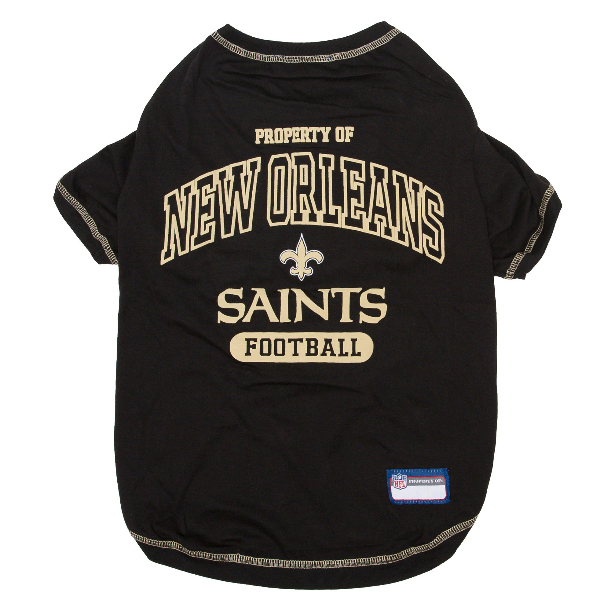 Pets first new orleans saints t shirt petco for Shirt printing new orleans