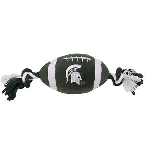 Pets First Michigan State Spartans Football Dog Toy
