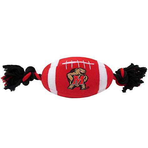 Pets First Maryland Terrapins Football Dog Toy