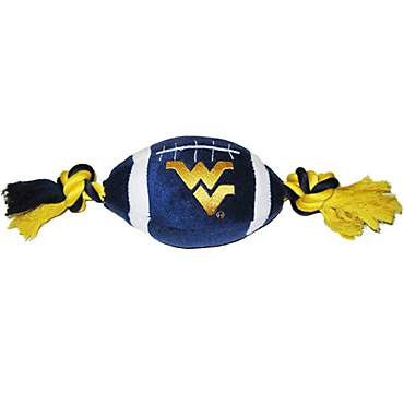 Pets First West Virginia Mountaineers Football Dog Toy