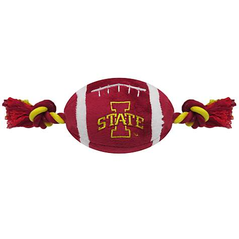 Pets First Iowa State Cyclones Football Dog Toy