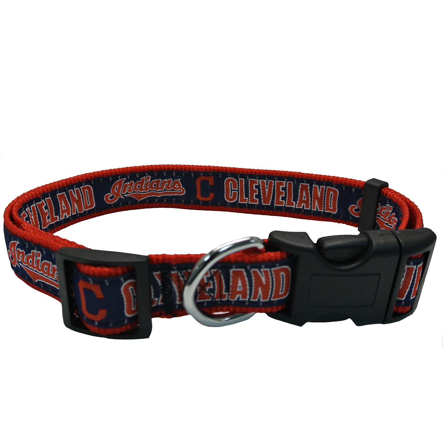 Pets First Cleveland Indians Dog Collar