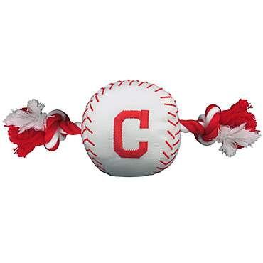 Pets First Cleveland Indians Baseball Dog Toy