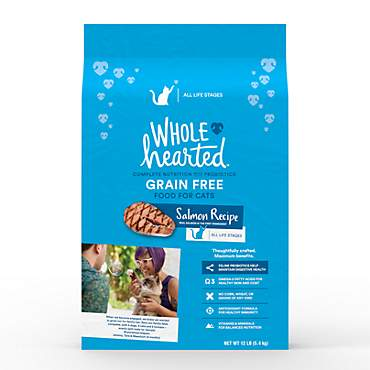WholeHearted Grain Free Salmon Formula Dry Cat Food