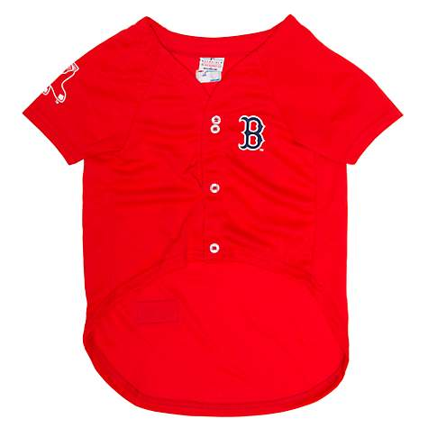 wholesale dealer 891f2 fa5d7 Pets First Boston Red Sox Jersey, X-Large