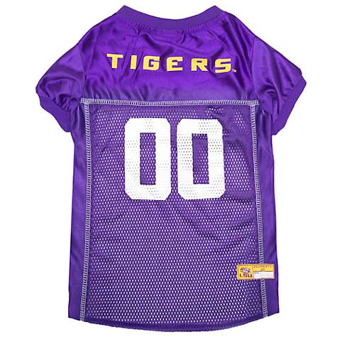 new product 10b00 5e8f4 Pets First LSU Tigers NCAA Mesh Jersey for Dogs, X-Small