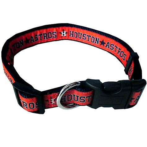 Pets First Houston Astros Collar