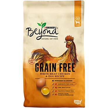 Beyond Grain Free White Meat Chicken & Egg Recipe Cat Food