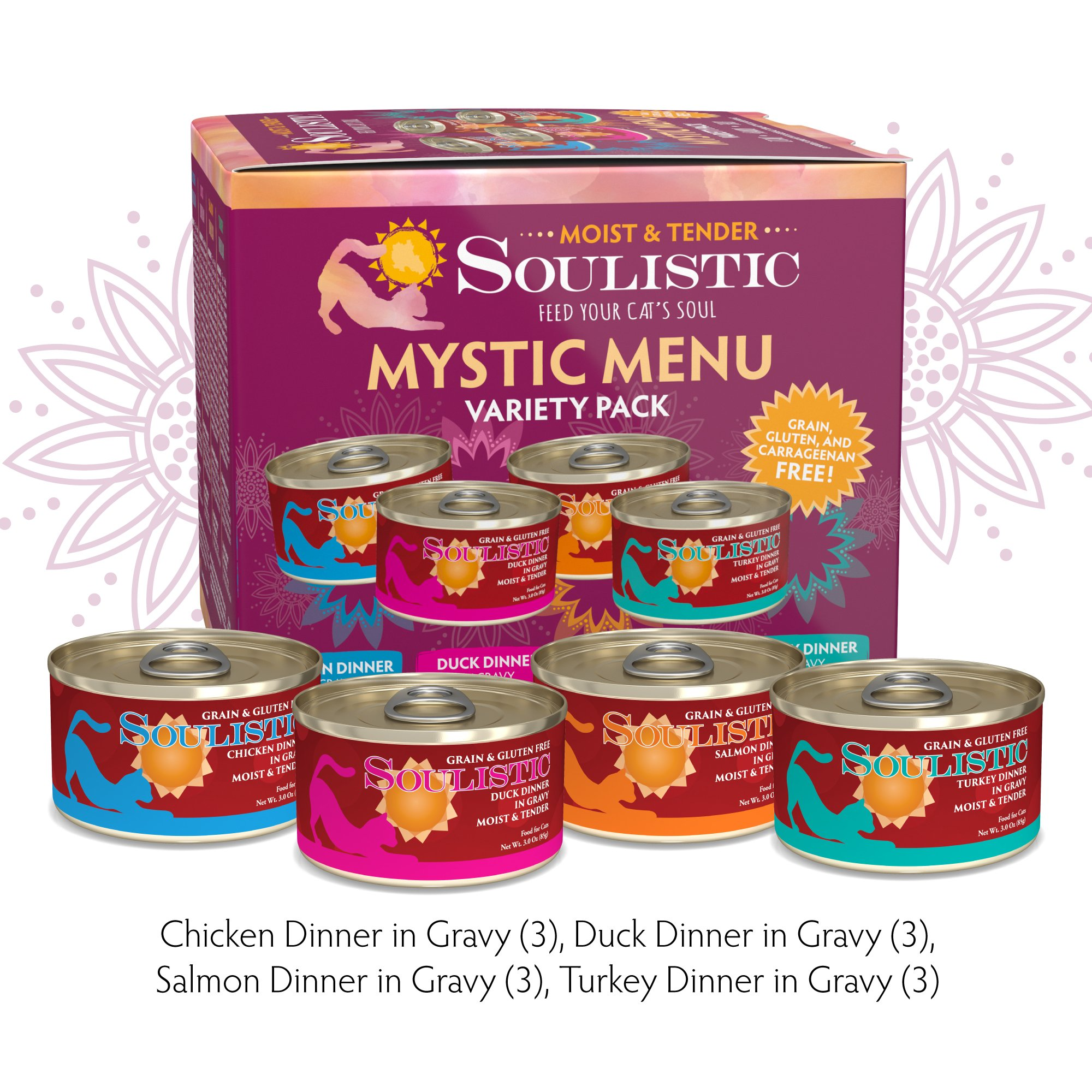 Soulistic Moist & Tender Variety Pack Cat Food | Petco at Petco in Braselton, GA | Tuggl