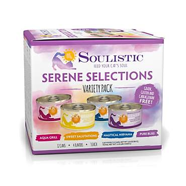 Soulistic Serene Selections Variety Pack Wet Cat Food