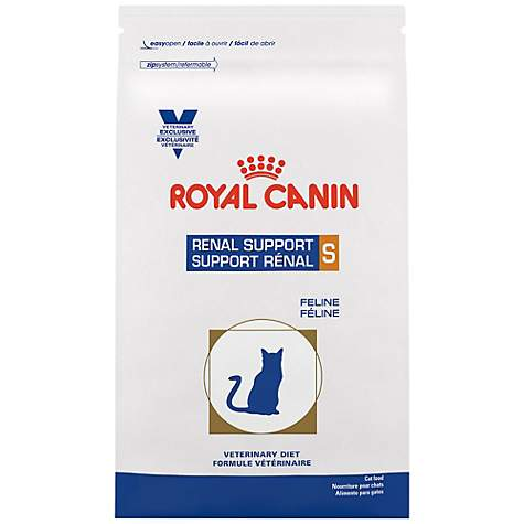 Royal Canin Veterinary Diet Feline Renal Support S Dry Cat Food, 6 6 lbs