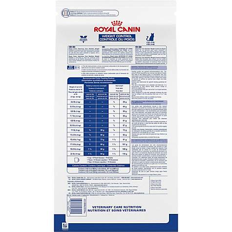 Royal Canin Veterinary Care Nutrition Feline Weight Control Dry Cat Food,  17 6 lbs