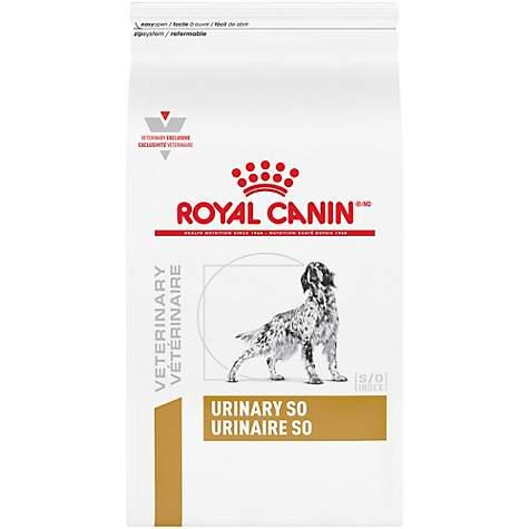 Royal Canin Veterinary Diet Canine Urinary SO Dry Dog Food, 25 3 lbs