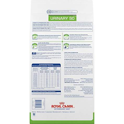 Royal Canin Veterinary Diet Canine Urinary So Dry Dog Food Petco