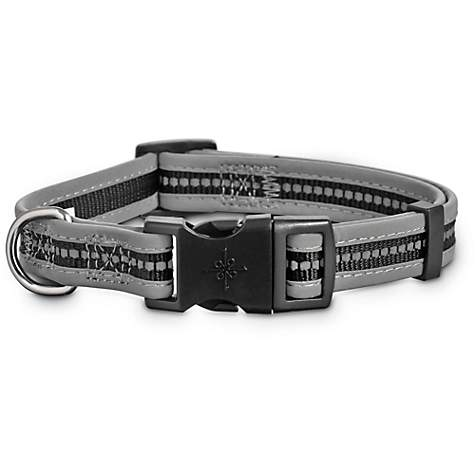 Good2Go Reflective Adjustable Dog Collar in Black