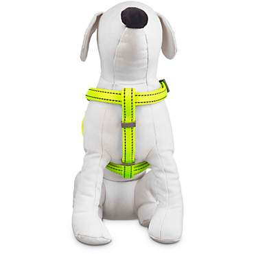 Good2Go Reflective Adjustable Padded Dog Harness in Yellow
